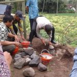 Kapolsek Ngantang Berserta Muspika Kecamatan Ngantang melaksanakan Peletakan Batu Pertama Desa Wisata di Mulyorejo