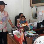 Menjaga Keamanan, Anggota Bhabin Polsek Batu Polres Batu Giatkan Sosialisai Ke Masyarakat Distributor Gas jaga sinergitas Dan Keamanan Wilayah