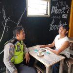 Langkah Preemtif dan Preventif Polri  Bersama Masyarakat, BHABIN DESA SUMBEREJO POLSEK BATU KOTA POLRES BATU TATAP MUKA KUNJUNGI TOKOH MASYARAKAT BINAANYA
