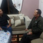 Polsek Pujon Polres Batu Sambang Ke Kades Desa Binaanya Untuk Menjaga Kamtibmas Wilayah Aman Kondusif Berikan Himbauan Kamtibmas Wilyah