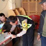 BHABINKAMTIBMAS POLSEK BATU KOTA POLRES BATU SAMBANGI PARA AGEN LPG