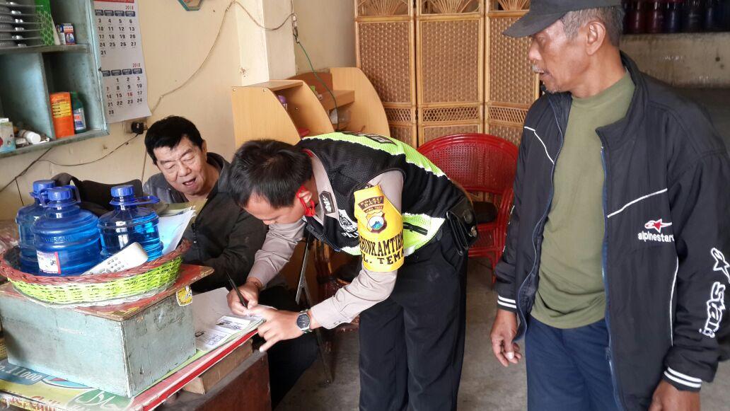 ANGGOTA BHABINKAMTIBMAS POLSEK BATU KOTA POLRES BATU SAMBANG PARA AGEN LPG BINAAN