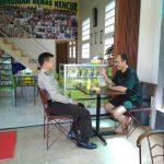 Tingkatkan Sinergitas Kemitraan, Bhabinkamtibmas Desa pendem Polsek Junrejo Polres Batu Silaturahmi Kepada Warga Desa Binaan