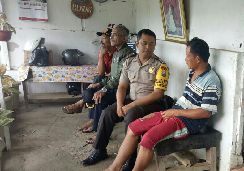 BHABIN KELURAHAN SONGGOKERTO POLSEK BATU KOTA POLRES BATU LAKUIKAN SAMBANG