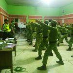 Melaksanakan Pelatihan Kepada Linmas Bhabinkamtibmas Desa Tlekung Polsek Junrejo Polres Batu