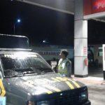 Tingkatkan Keamanan di Wilayah, Polsek Ngantang Patroli Subuh