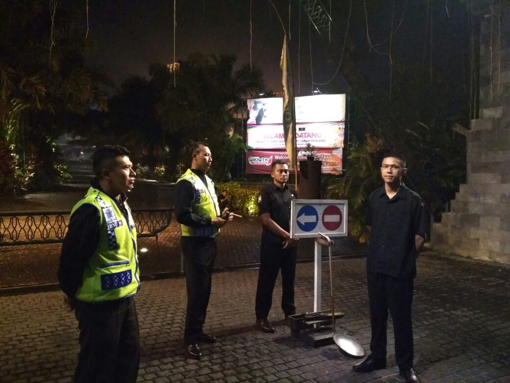 Malam Hari Polsek Junrejo Polres Batu Lakukan Patroli Dialogis