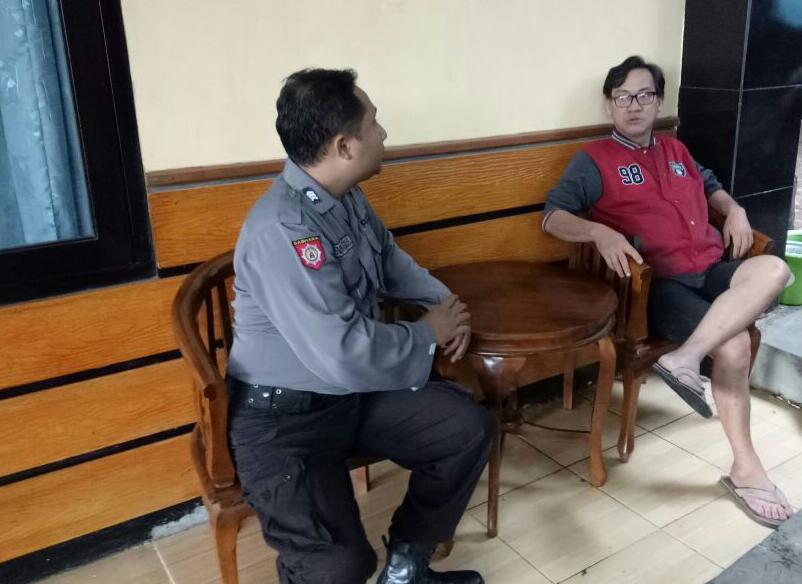 GIAT DDS, BHABIN DESA ORO ORO OMBO POLSEK BATU KOTA POLRES BATU SAMBANG PEMILIK HOME STAY