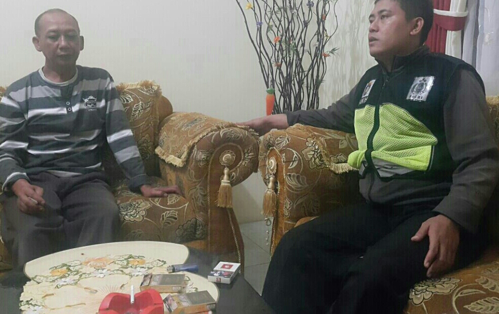 GIAT DDS, BHABINKAMTIBMAS SUMBEREJO POLSEK BATU KOTA POLRES BATU SAMBANG KADES