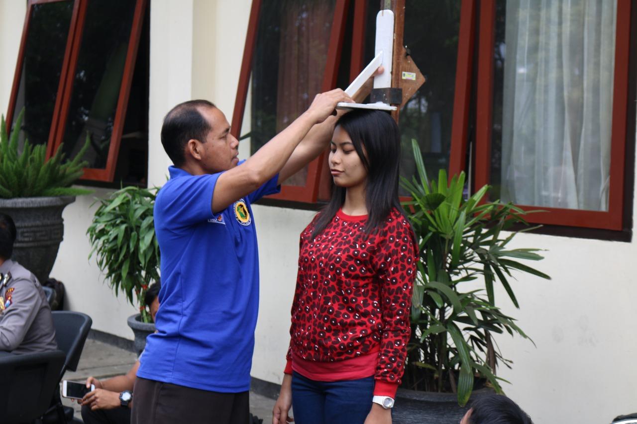 Anggota Polres Batu Giatkan Bina Latihan Untuk Tingkatkan Potensi Calon Polisi