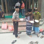 Polres Batu Melaksanakan Jum`at Barokah Di Masjid Jami` Baiturrohman Cangar Bumiaji
