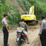 Kapolsek Ngantang Polres Batu Memimpin Pelaksanaan Patroli Daerah Rawan Longsor
