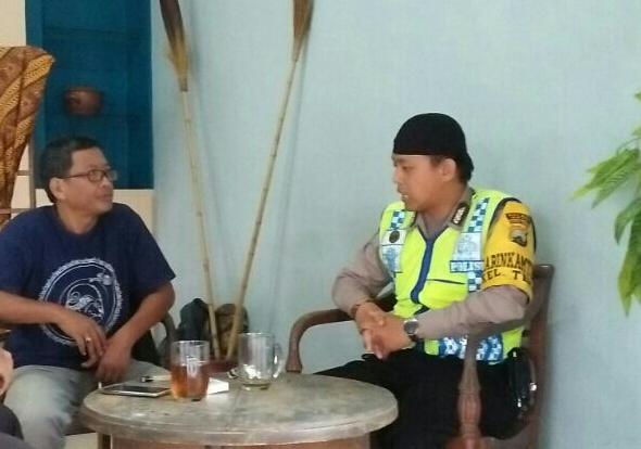 Sambang, BANGUN SILATURAHMI BHABIN KELURAHAN.TEMAS POLSEK BATU KOTA POLRES BATU SAMBANG KEPADA TOKOH BUDAYA