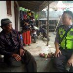 Polsek Kasembon Polres Batu Giatkan Kunjungan Silaturahmi ke Tokoh Masyarakat Desa Wonoagung