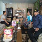 KEGIATAN SAMBANG DAN DDS, Kapolsek Pujon Polres Batu Koordinasi Dengan Kades Bendosari Untuk Aksi Tanggap Bencana