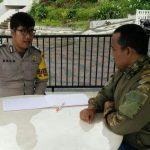 Bhabinkamtibmas Polsek Batu Kota Polres Batu Melaksanakan Giat Sambang Kepada Kelompok Pam Swakarsa