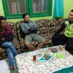Anggota Bhabin GunungSari Polsek Bumiaji Polres Batu Silaturahmi Kepada Warga Bumiaji