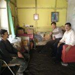 Bhabinkamtibmas Polsek Batu Kota Polres Batu Melaksanakan Kunjungan Kamtibmas Ke Desa Pesanggrahan