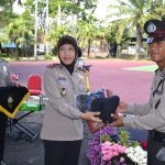 Polres Batu Melaksanakan Acara Penutupan Latja Siswa Diktuk Bintara Polri tugas Umum T.A 2018