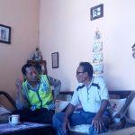 Anggota Bhabinkamtibmas Polsek Pujon Polres Batu Mendatangi Untuk Dialogis Dengan Tokoh Agama Wilayah Pujonlor