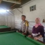 Bhabinkamtibmas Desa Pendem Polsek Junrejo Polres Batu Adakan Sambang Di Rumah Penyewaan Bilyard