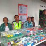 Bhabinkamtibmas Polsek Kasembon Polres Batu Sambangin Serta Kunjungan Bersama Babinsa dan Perangkat Desa