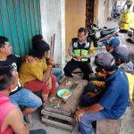 Langkah Preventif Polri di Wilayah Binaannya, Polsek Batu Kota Polres Batu Ngobrol Bareng Juga Dengan Paguyuban Truk pasar Kelurahan Temas