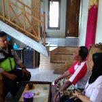 Langkah Preventif Polri di Wilayah Binaannya, Polsek Batu Polres Batu Menjalin PDKT Dengan Masyarakat ( Peduli Kerukunan Tetangga )