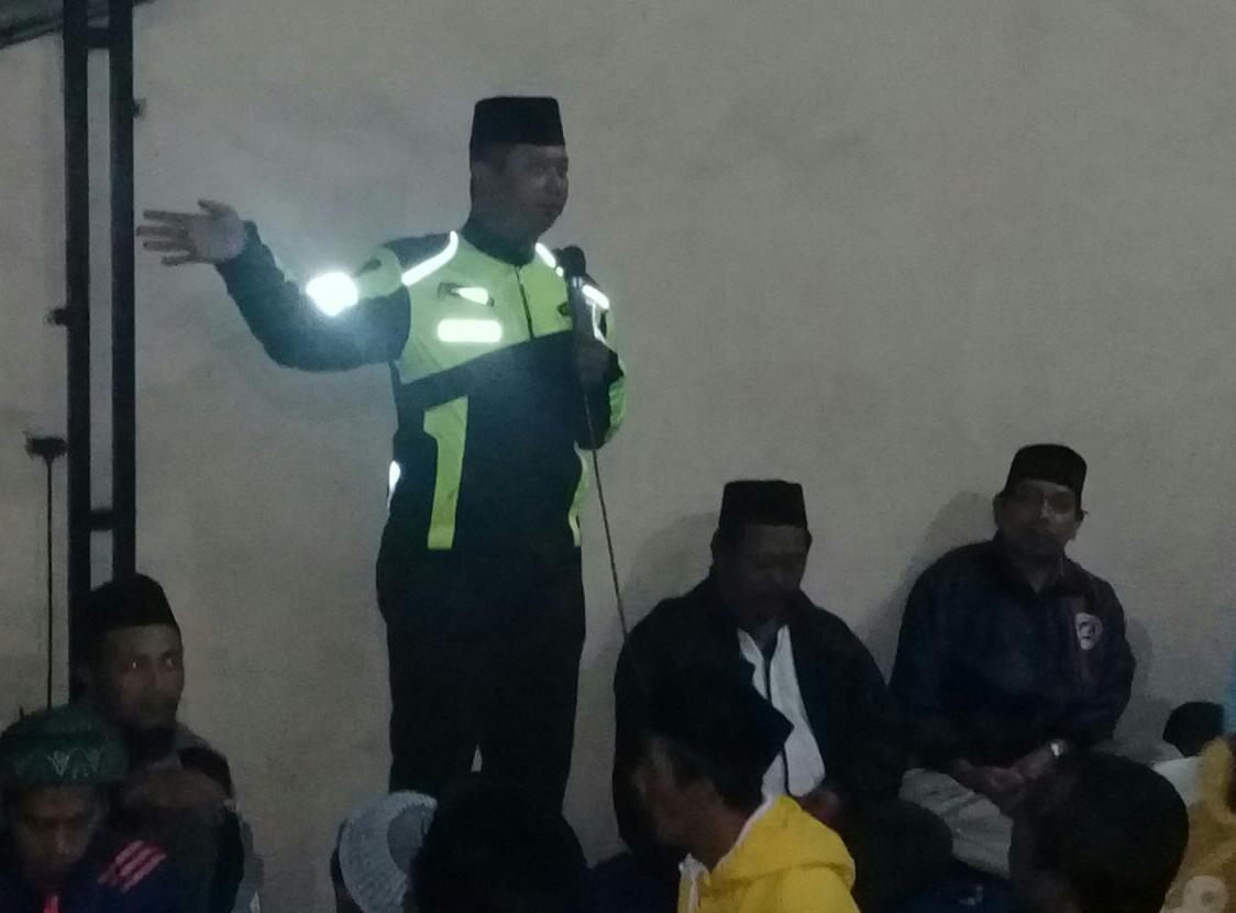 Upaya Preemtif Polri Pada Masyarakat, Polsek Batu Kota Polres Batu Melaksanakan Binluh Kepada Jamaah Tahlil