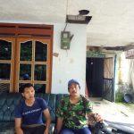 Polsek Kasembon Polres Batu Melaksanakan Koordinasi Bencana Longsor Dengan Kepala Desa Pondok Agung Kasembon Malang