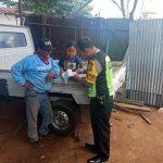 Bhabin Temas Polsek Batu Kota Polres Batu Jalin Kepercayaan Dengan Berkunjung Ke Masyarakat