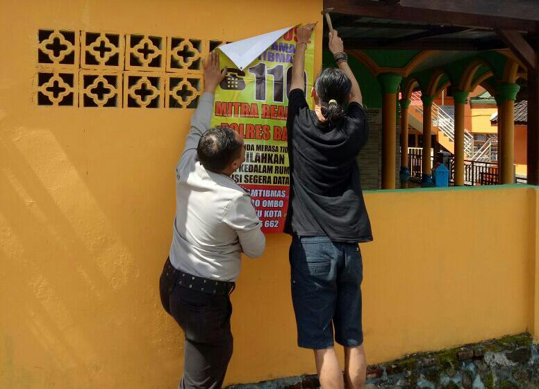 Save House 110 Rumah Makan Reaktif Bhabin Polsek Batu Polres Batu