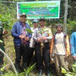 Jalin Sinergi TNI Polri Bhabinkamtibmas Polsek Batu Kota Polres Batu Melaksanakan Penanaman Pohon Kopi Bersama-sama