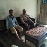 Sambang Bhabinkamtibmas Desa Kasembon Polsek Kasembon Polres Batu Ke Wilayah Sanggrahan