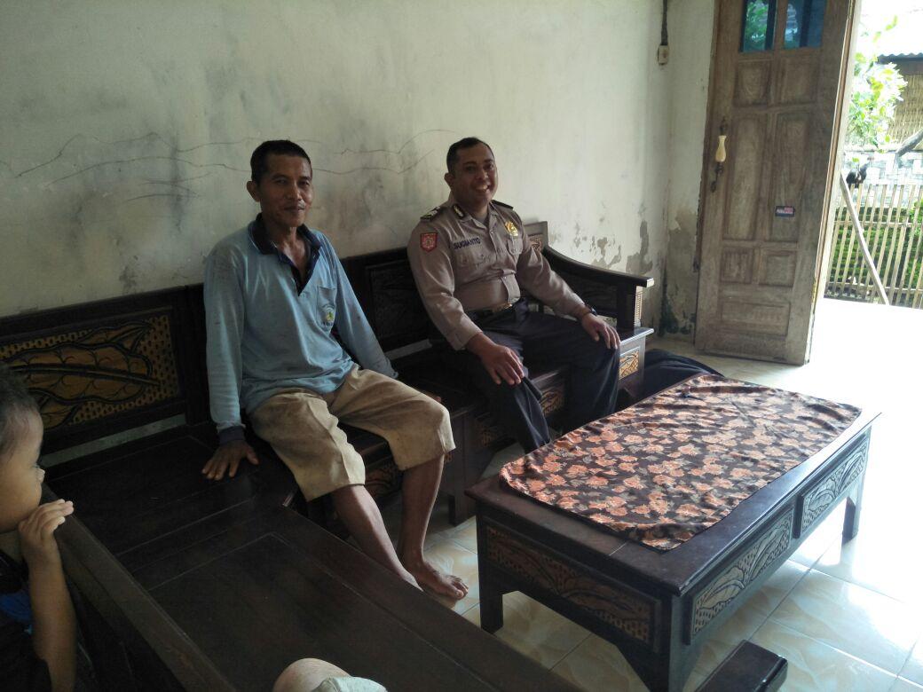 Giat Sambang Bhabinkamtibmas Desa Kasembon Polsek Kasembon Polres Batu