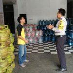 Bhabinkamtibmas Polsek Batu Kota Polres Batu Datang Kunjung Ke Pangkalan LPG