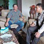 Bhabinkamtibmas Polsek Batu Kota Polres Batu Melaksanakan Giat Silaturahmi Kepada Tokoh Politik Kota Batu