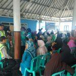 Pengamanan Kegiatan Di Wilayah Binaanya, Kapolsek Pujon Polres Batu Beserta Anggota Hadir Di Sekitar Masyarakat