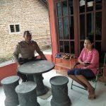 Giat DDS, Sambang Bhabinkamtibmas Ds. Bayem Polsek Kasembon Polres Batu