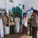 GIAT BINLUH, Bhabinkamtibmas Polsek Kasembon Polres Batu Sambang Masjid