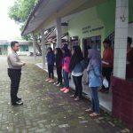 Bhabinkamtibmas Desa Sidomulyo Polsek Batu Kota Polres Batu Melaksanakan Sebuah Kunjungan Untuk Siswa SMA N 03 Batu