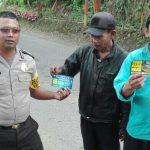 Anggota Bhabinkamtibmas Polsek Batu Polres Batu Melaksanakan Sambang Ke Paguyuban Pramuwisata Songgoriti