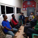 Bhabin Desa Pendem Polsek Junrejo Polres Batu mengikuti pertemuan pengurus Hippam