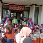 Sambang, Polsek Pujon Polres Batu Menerima Kunjungan Anak-Anak Paud/(Polisi Sahabat Anak)