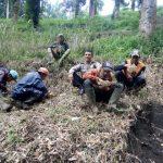 Door To Door System Bhabinkamtibmas Polsek Pujon Polres Batu Kunjungi Petani