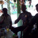 Anggota Bhabin Polsek Kasembon Polres Batu Melaksanakan Kunjung Ke Tokoh Politik