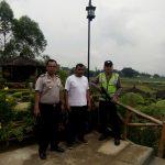 Kunjungi Wisata Cafe Sawah Kapolsek Pujon Polres Batu Ciptakan Situasi Aman