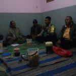 Bhabin Desa Tlekung Polsek Junrejo Polres Batu melaksanakan bimbingan tehnis terpadu pada linmas