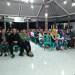 Bhabin Desa Waturejo Polsek Ngantang Polres Batu Hadiri Rapat Penetapan APB Des