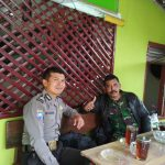 Bhabin Desa Pendem Polsek Junrejo Polres Batu Melaksanakan  Coffee Morning Bersama Babinsa
